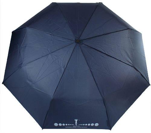Мужской зонт автоматический H Due O синий