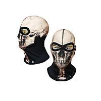 Балаклава Radical Subskull 1 Белый череп (r0950)