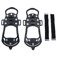Ледоходы для обуви MFH «10 шипов» чёрные XL