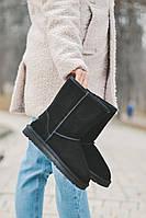 Жіночі уггі натуральна замша UGG високі ( Жіночі замшеві чоботи), фото 1