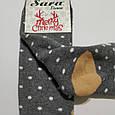 Носки махровые высокие с мишкой 36-41 размер, фото 6