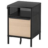 IKEA BEKANT Шкафчик на ножках, черная сетка, 41x61 см (692.823.99), фото 1
