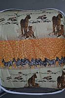 Одеяло закрытое овечья шерсть (Поликоттон) Полуторное #1010, фото 1