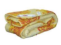 Одеяло закрытое овечья шерсть (Поликоттон) Полуторное T-51108, фото 1