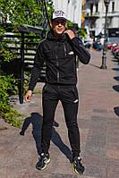 Мужской черный спортивный костюм NF