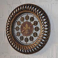 """Настінний годинник """"Antiq round bronze"""" (40 см.), фото 1"""