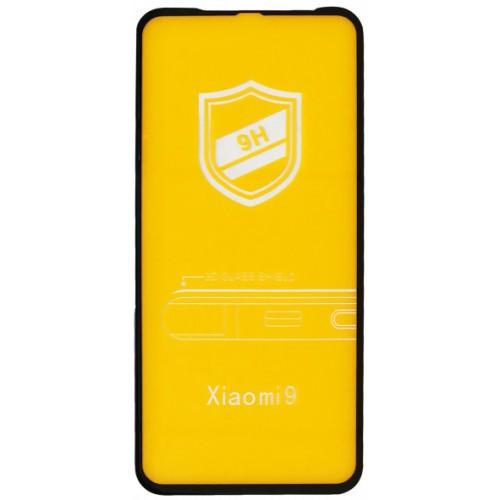 Стекло 3D for Xiaomi Redmi note 8 PRO black/ защитное стекло/ стекло на сяоми редми ноте 8 ПРО черное/