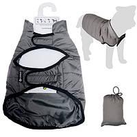 Flamingo Coat Eden ФЛАМИНГО попона защитная одежда для собак , серый см., 30 см см.