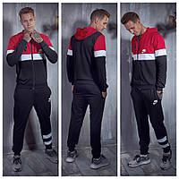 Мужской черный спортивный костюм Найк