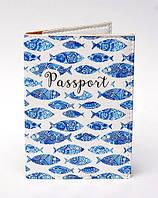 Обложка на паспорт Рыба