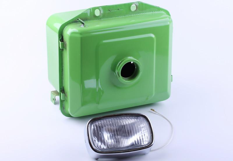 Бак топливный с фарой выступающая горловина (ZUBR original) - 180N (R180)