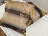 Комплект подушек  С цветами беж , 2 шт 35х35, фото 2
