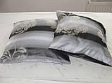 Комплект подушек  С цветами беж , 2 шт 35х35, фото 3