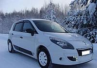 Дефлекторы окон, ветровики Рено Сценик, Renault Scenic III 2009-