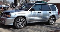 Дефлекторы окон, ветровики Субару Форестер, Subaru Forester II 2002-2008, фото 1