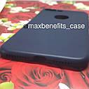 Iphone 7 Plus чехол цветной силиконовый матовый синий, фото 2