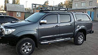 Дефлекторы окон, ветровики Тойота Хайлюкс, Toyota Hilux 2005-2015