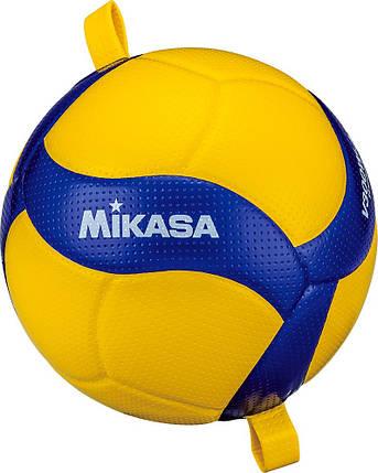 Мяч волейбольный тренировочный Mikasa V300W-AT-TR Желто-синий, фото 2
