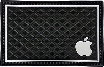 Противоскользящий коврик в машину Apple (12x19 см)