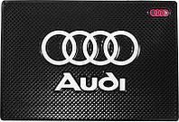 Противоскользящий коврик в машину Audi (12x18 см)