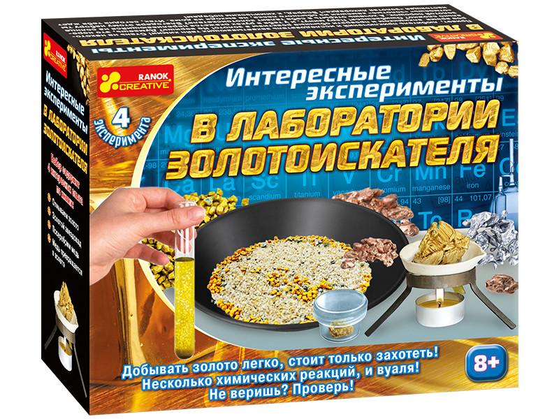 """Набір для експерементів """"Лабораторія золотошукача"""" 12115016Р"""