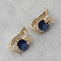 Серьги классические позолота Xuping Jewelry: xpe1g-13