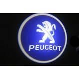 Підсвічування двері Peugeot на батарейках, фото 2