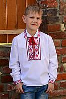 """Сорочка-вышиванка детская для мальчика """"Мальчишья удаль"""", фото 1"""