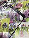 Meizu Note 8 защитное 3D 5D 9D стекло Full Glue (черная окантовка) полное покрытие полный клей, фото 2