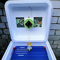 Автоматический инкубатор Рябушка Смарт турбо 48 яиц сеточный переворот