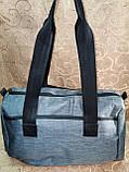 Женская cумка BALENCIAGA 3 отдела спортивная сумка Отдых мессенджер cумка только ОПТ), фото 3