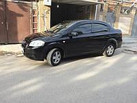 Дефлекторы окон, ветровики Шевроле Авео, Chevrolet Aveo sd 2006-/ЗАЗ Vida Sd 2012