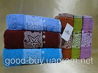 Полотенце для сауна Gobel    100% хлопок махра  6 шт 90х150 Турция  pr-sa04