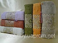 Полотенце для сауна Best Rose  100% хлопок махра  6 шт 90х150 Турция  pr-sa06