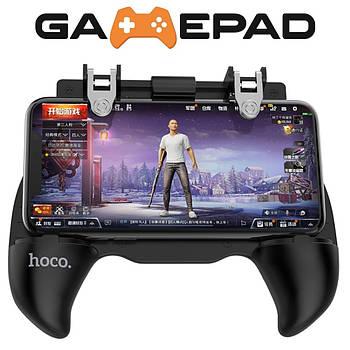 Беспроводной геймпад Hoco GM2 PUBG Winner Джойстик + триггеры для телефона Cod, Garena, Fornite Mobile
