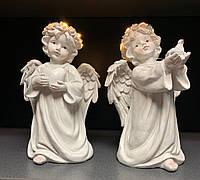 Статуэтки Ангелы светящиеся, набор из 2 шт, фото 1