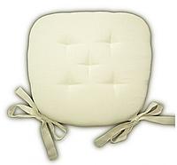 Подушка на стул Кедр на Ливане трапеция серия I 38x38,5x4 см Натуральная (1095)