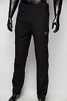 Спортивные штаны мужские Adidas 23002 плащевка черные