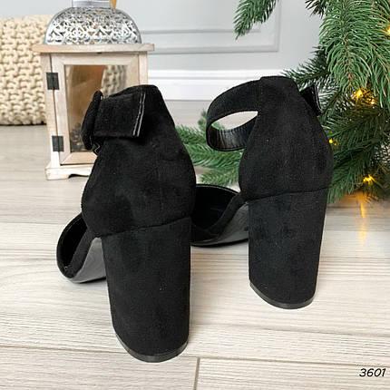 Туфли на толстом каблуке, фото 2