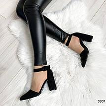 Туфли на толстом каблуке, фото 3