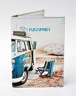 Обложка на паспорт Автобус Океан