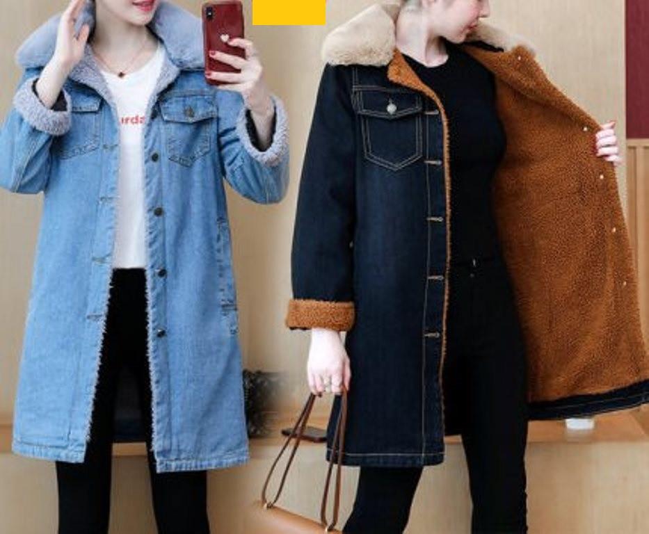 Longines Island Жіноча джинсова куртка бавовна