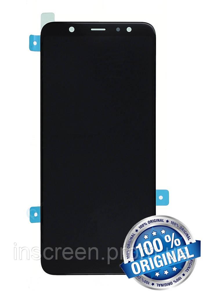 Дисплейний модуль для Samsung A605 Galaxy A6 2018 чорний (GH97-21878A) Оригінал
