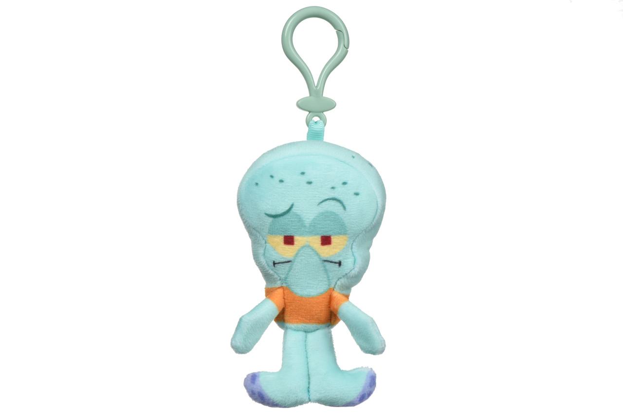 Игрушка-брелок Mini Сlip Plush Squidward Tentacles (Сквидвард), 10 см, «SpongeBob SquarePants» (EU690400-3)