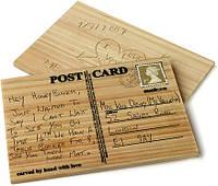 """Деревянная открытка """"CARVECARD"""", фото 1"""