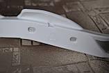 Мото захист рук ударостійка з кріпленням на кермо 22мм (біла) 1 варіант, фото 4
