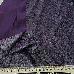 Трикотаж люрекс (фиолет)