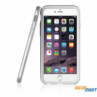 Бампер Araree Bumper case White-Silver for iPhone 6 Plus