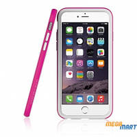 Бампер Araree Bumper case White-Pink for iPhone 6 Plus
