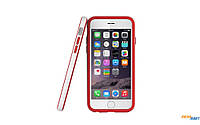 Бампер Araree Bumper case White-Red for iPhone 6 Plus